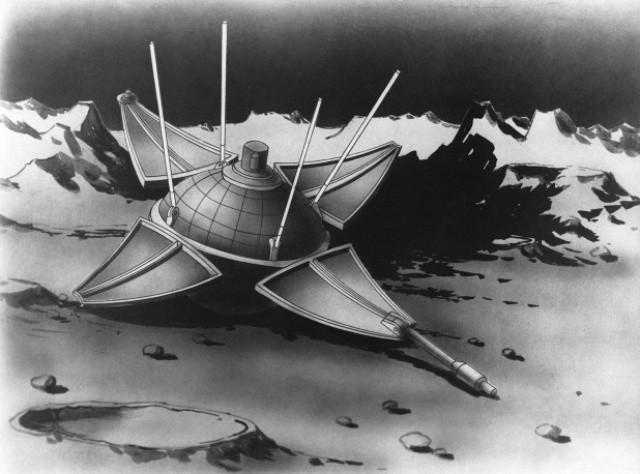 Советская станция «Луна-9» впервые в мире осуществила мягкую посадку на Луну